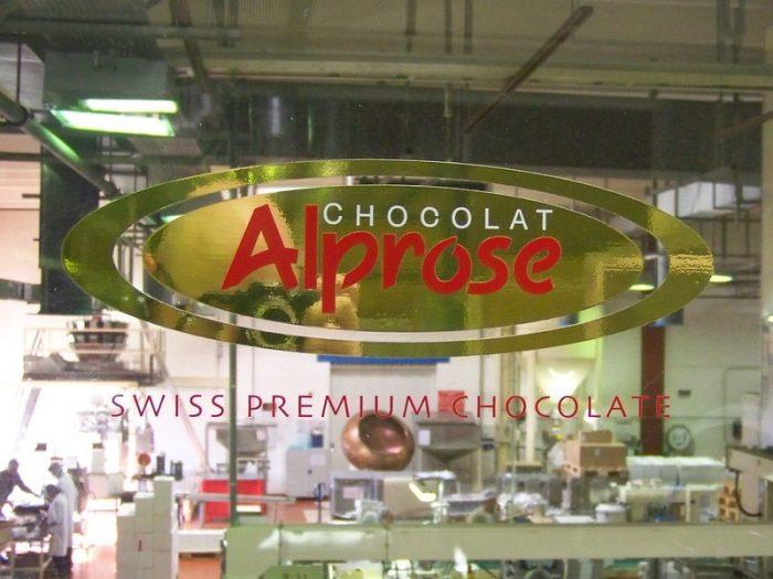 Музей шоколада Alprose в Лугано, Швейцария