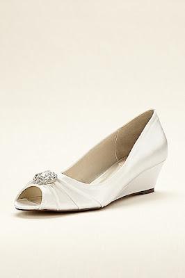 Zapatos blancos para cita