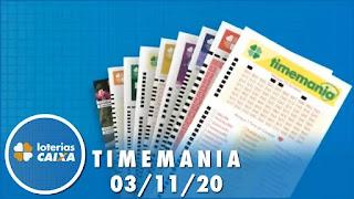 Resultado da Timemania 1558 - Quina 5406 - Lotomania 2123 - Lotofácil 2072 - Dia de Sorte 377 - Dupla Sena  2152