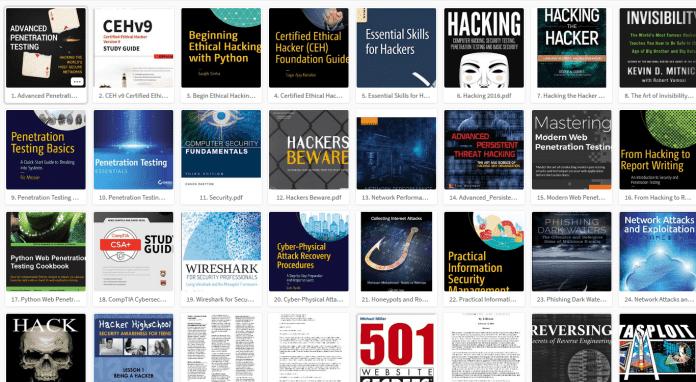 Top 100 livros gratuitos Hacking PDF Coleção  2018