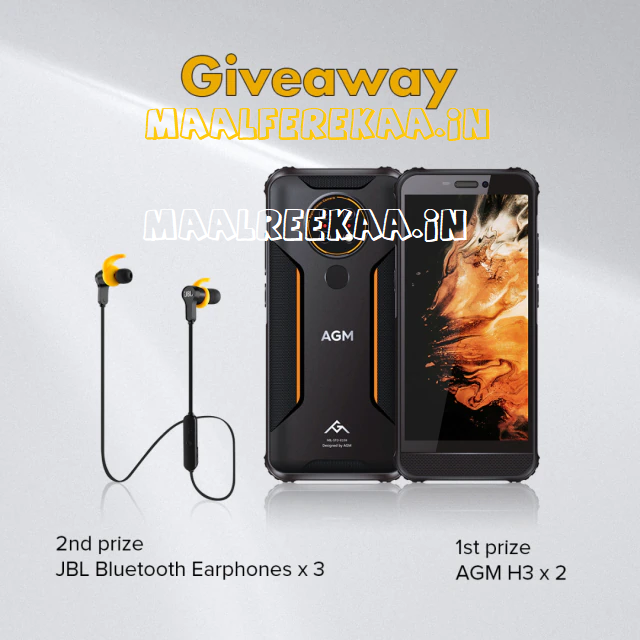 Aliexpress Giveaway Win AGM Smartphone and more