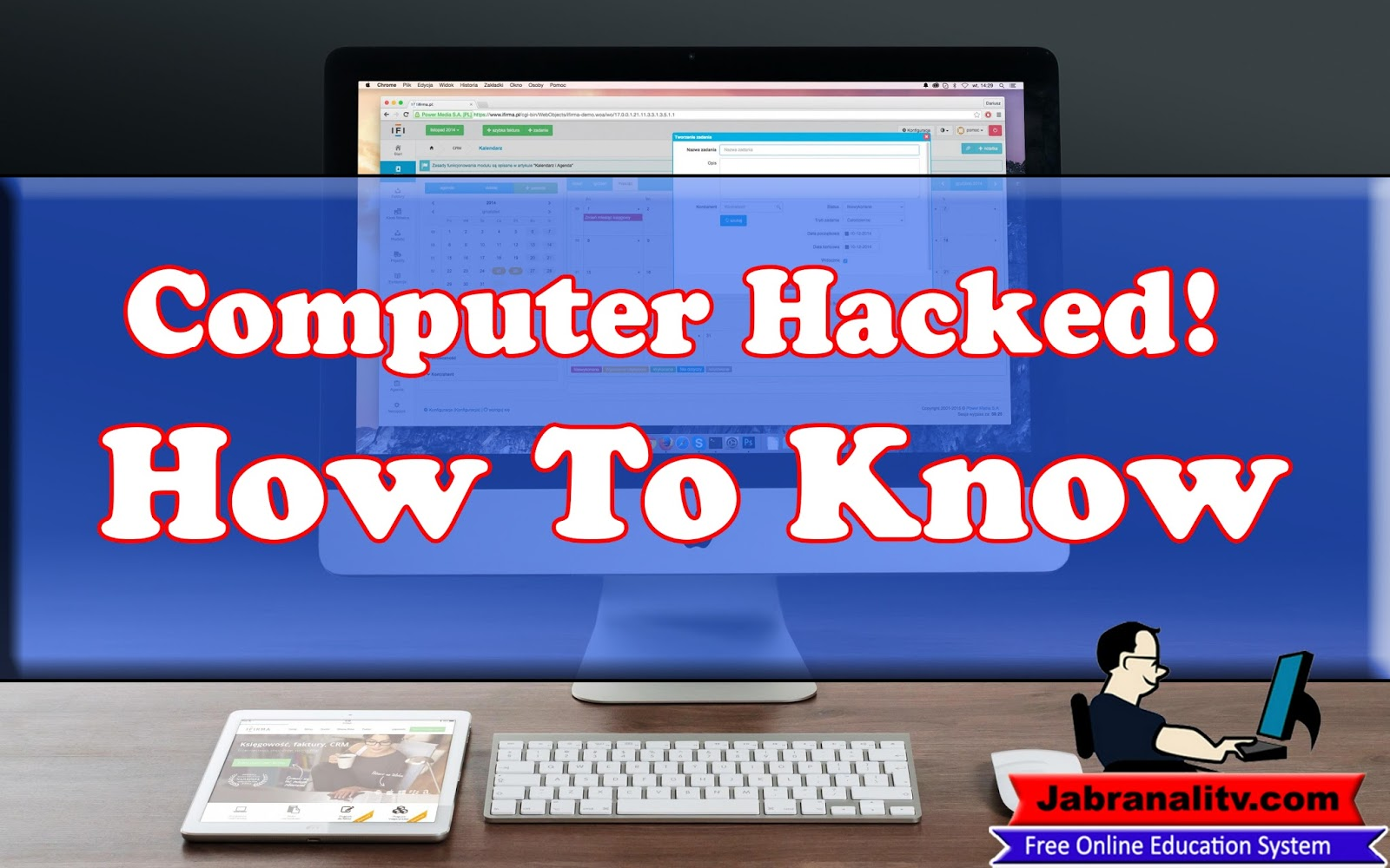 how to know your computer is hacked