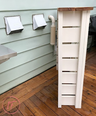 Repurposed Shutters Outdoor Utility Box Vent Cover