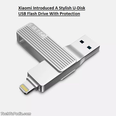 Xiaomi Introduced A Stylish U-Disk USB Flash Drive With Protection
