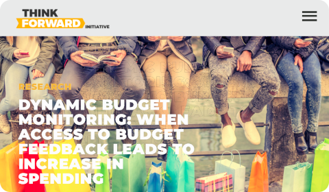 Think Forward Initiative - Dynamic Budget Monitoring