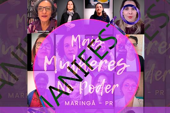 Manifesto do movimento Mais Mulheres no Poder. Café com Jornalista
