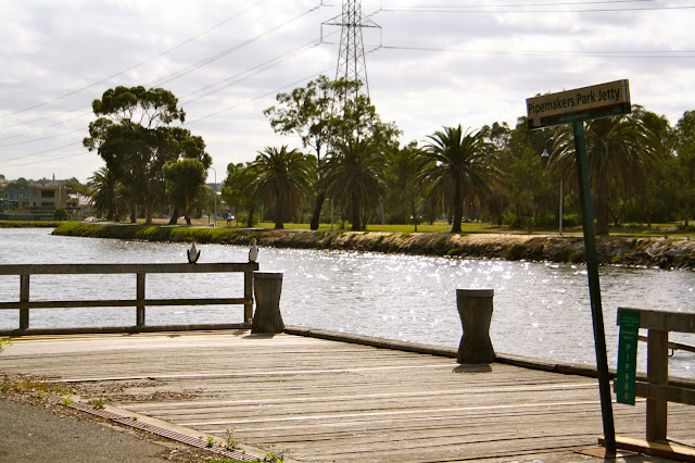 Pipemakers Park Maribyrnong River