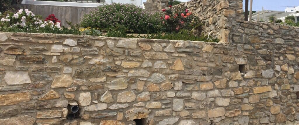 Coursed Rubble Masonry