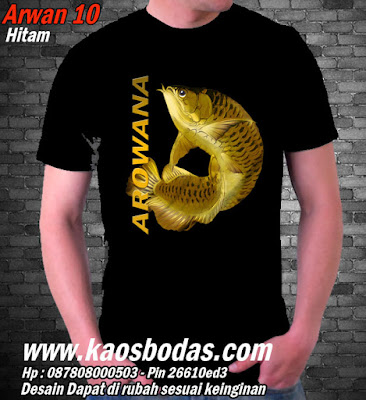 Kaos Arwana 10