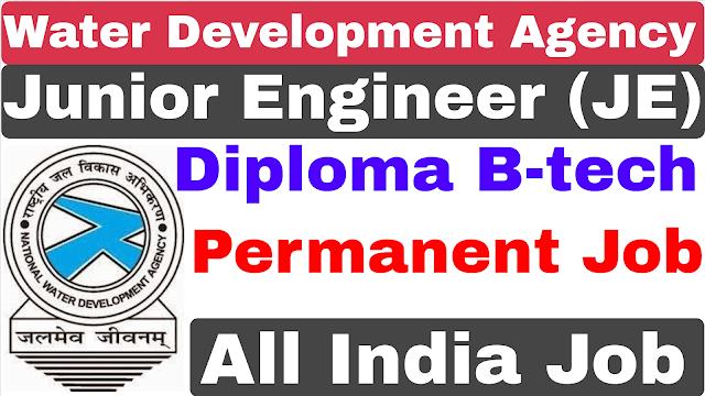 National Water Development Agency NWDA Junior Engineer Recruitment 2021 | NWDA JE Recruitment 2021