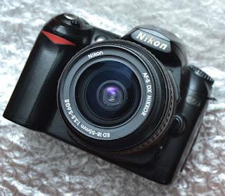 Kamera DSLR 1 Jutaan Nikon D50 + kit