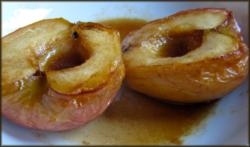 Weight Watchers Cinnamon and Cider Baked Apples