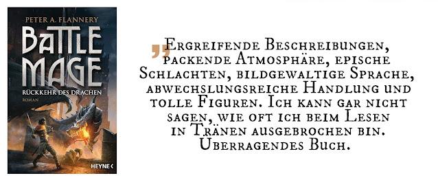 """Highlight Mai 2020: """"Battle Mage 2: Rückkehr des Drachen"""" von Peter A. Flannery"""