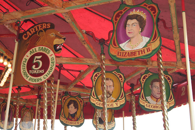 Carters Steam Fair Gallopers token ride price.