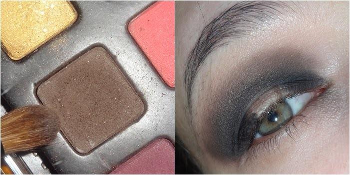 Maquiagem Preto com Laranja