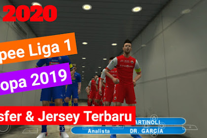 Pes 2020 Offline Mod Shopee Liga 1 Indonesia & Eropa 2019 New Transfer & Jersey Terbaru | Camera PS4