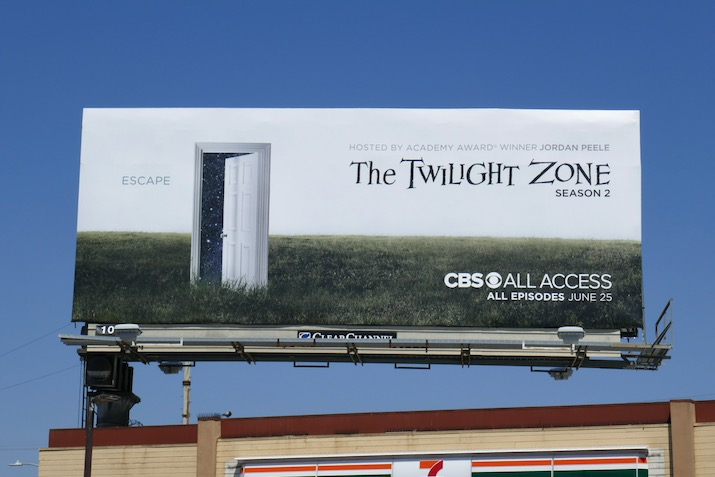 Twilight Zone season 2 CBS All Access billboard
