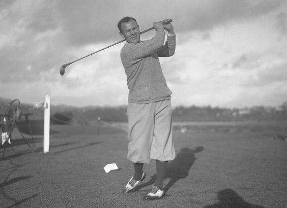 Golfer Al Espinosa