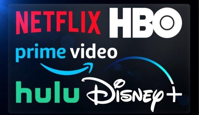 Netflix, Amazon Prime video, Popcorn Time
