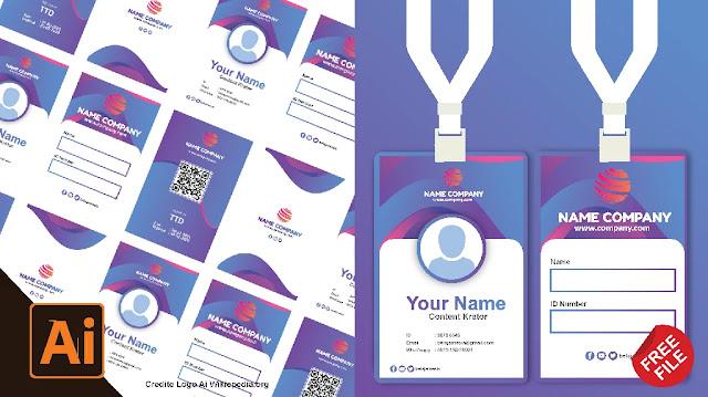 Free Name Tag : Download Contoh Name Tag Coreldraw Dan Illustrator Gratis