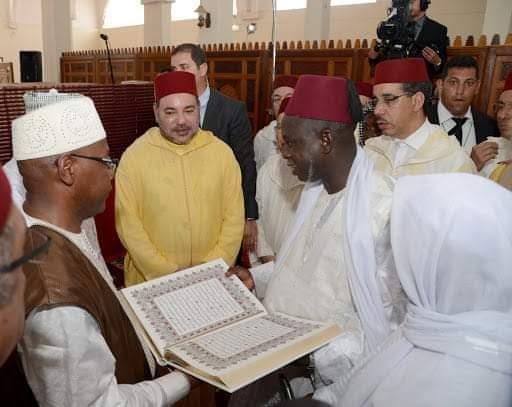 المغرب بقيادة مولانا أمير المؤمنين  صاحب الجلالة الملك محمد السادس نصره الله نموذج في تكريس قيم الإسلام المعتدل في العالم وأفريقيا