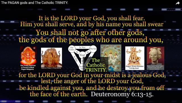 The Trinity is pagan