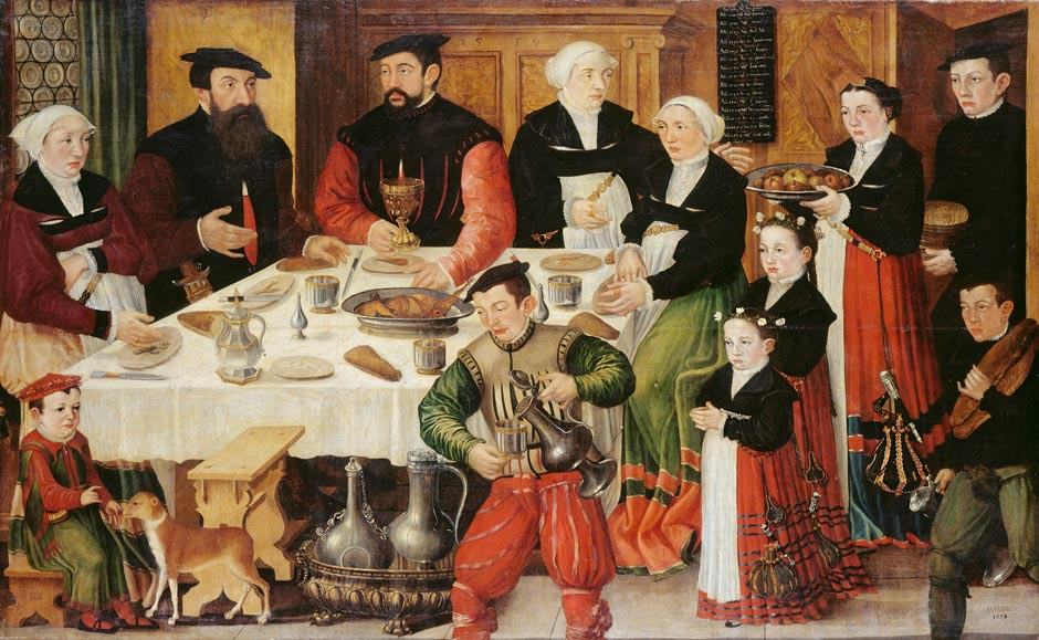 It's About Time: 1500s English & European Families