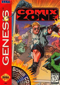 Comix Zone, uno de los mejores juegos para Mega Drive-Genesis
