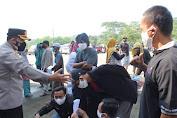 Kapolres Serang Tinjau Kegiatan Vaksinasi di PT Gumindo Jawilan
