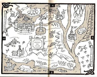 Mapa de Olvidado Rey Gudú