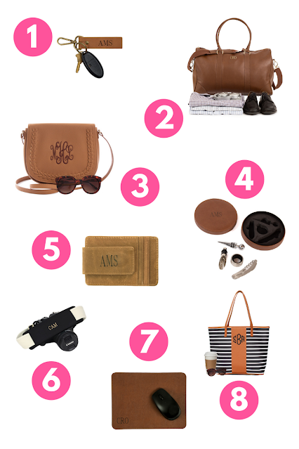 8 leather gifts you'll love from marleylilly