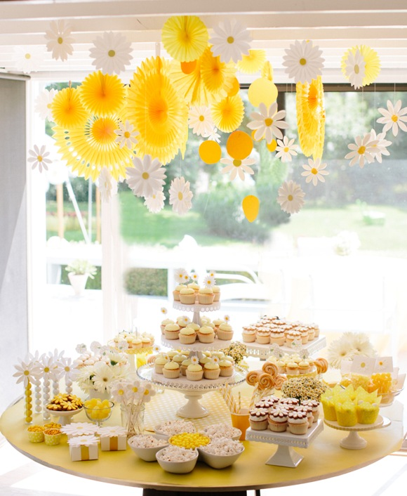 Fun Daisy Party Ideas - BirdsParty.com