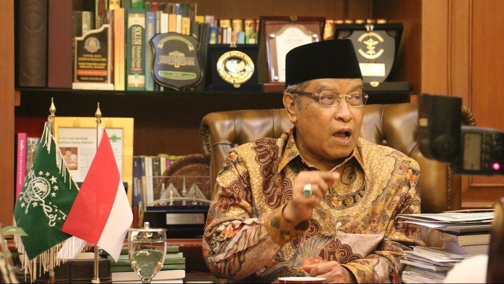 Gawat! Said Aqil Sebut Indonesia Berpotensi 'Diambil Alih' Asing Lewat Vaksin Covid-19