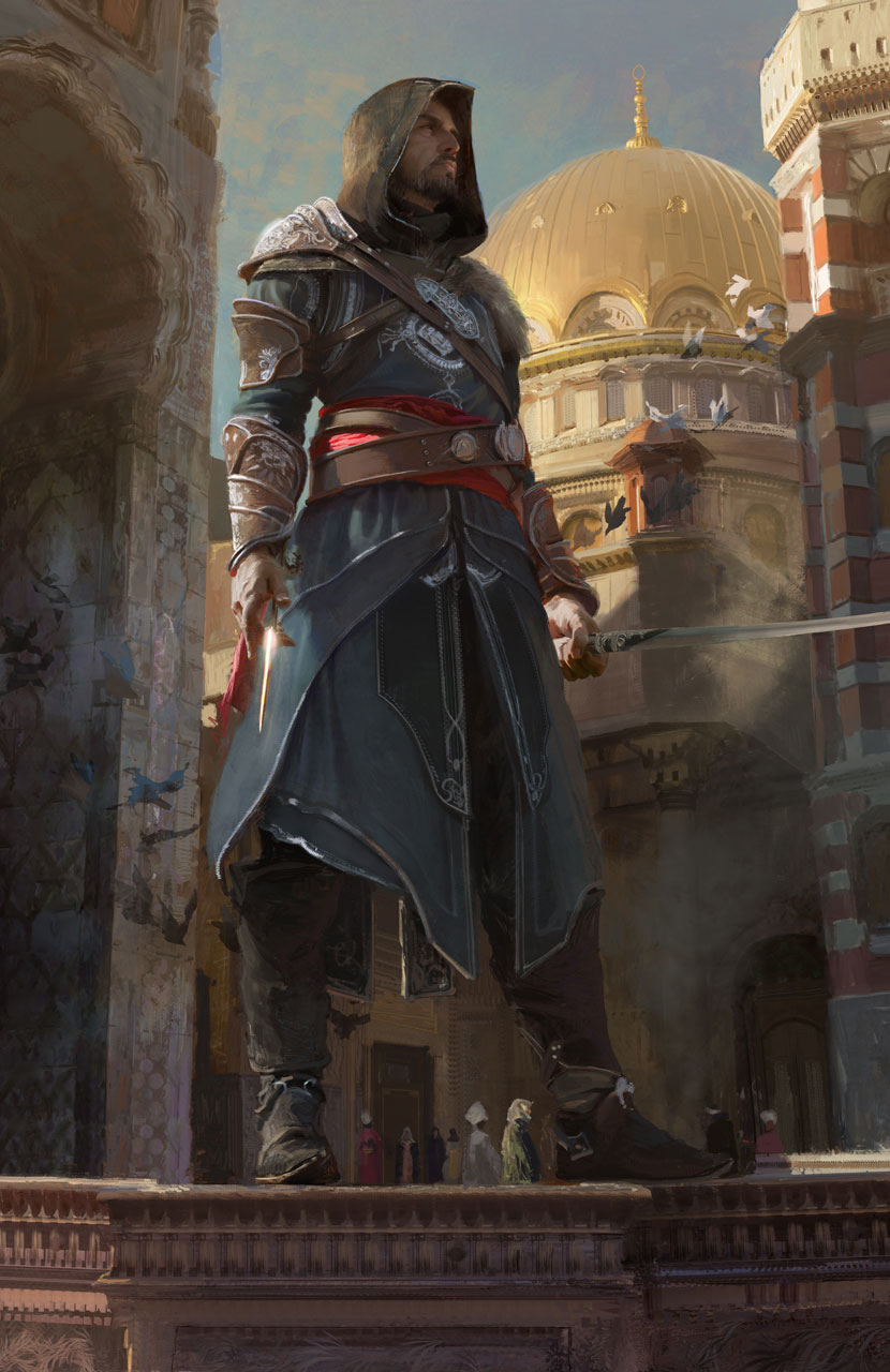 Arte de Assassin's Creed Revelations