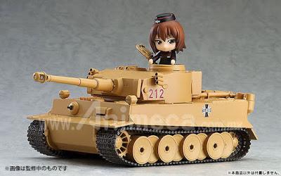 Figura Tiger I Nendoroid More Girls und Panzer the Movie