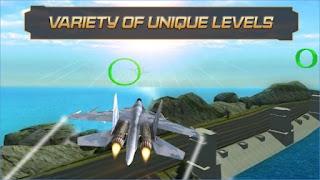 Game Jet Fighter Highway Landing Apk