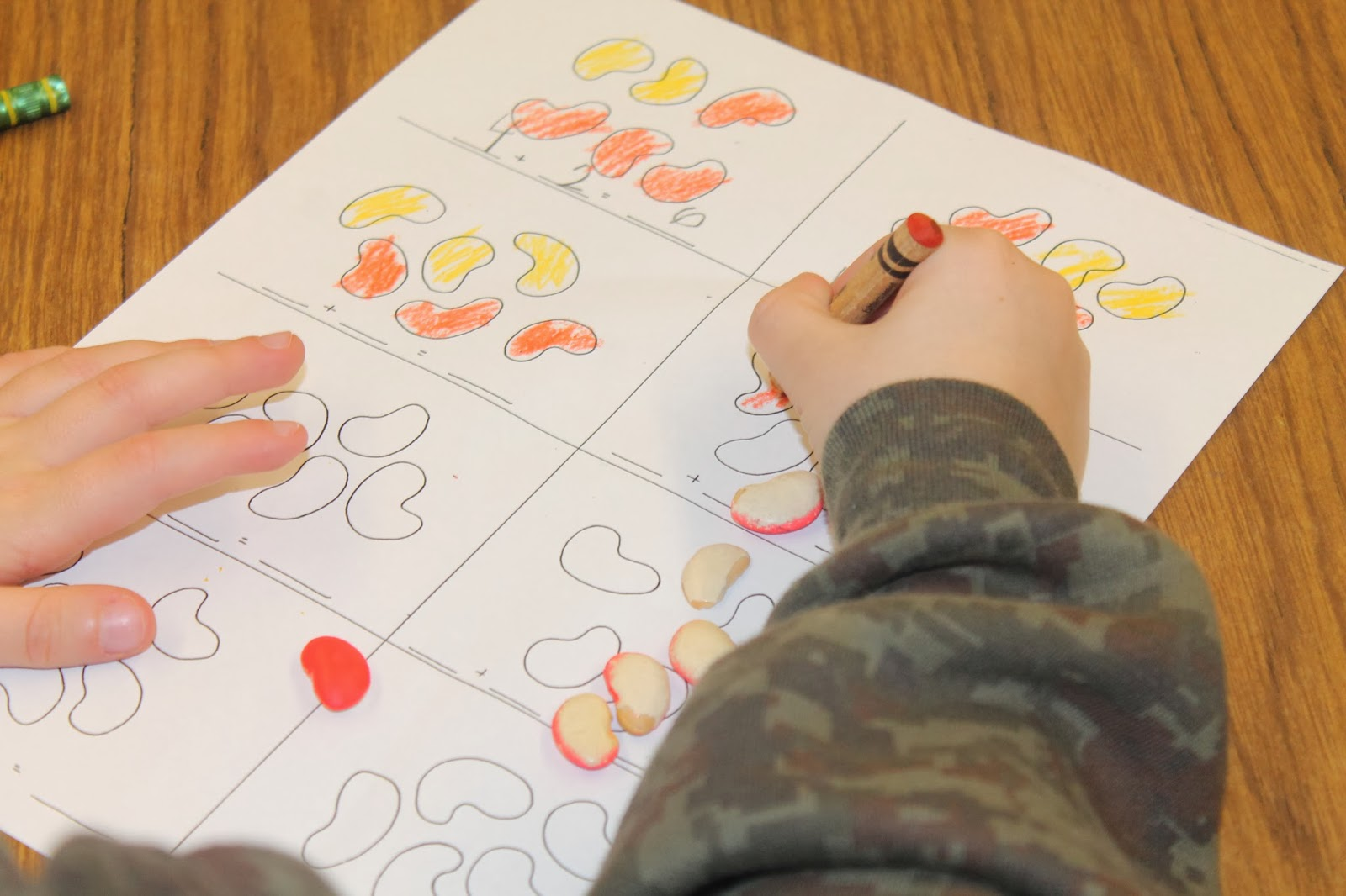 Abc S And Polka Dots Lima Bean Addition