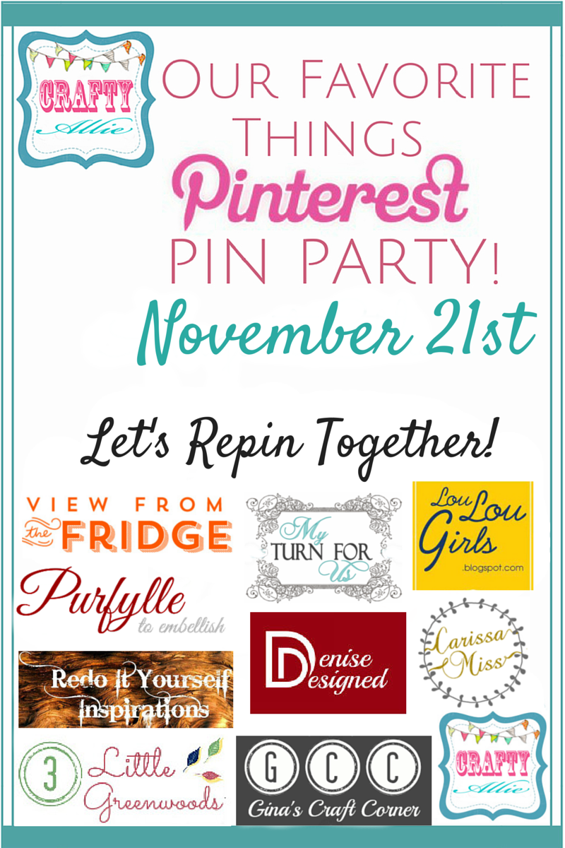 Pin It Party Poster