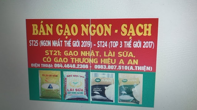 Địa điểm bán gạo ST25 tại Vũng Tàu