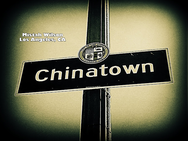 Chinatown, Los Angeles, California by Mistah Wilson