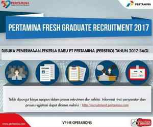Pertamina Recruitment 2017