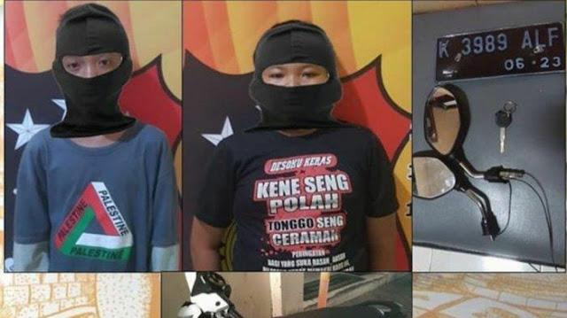 Bocil Kelas 6 SD Maling Motor di Barbershop Semarang: Biar Keren Pak