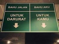 Humor Bahasa : Bahu Jalan