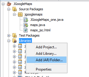 Cara Menggunakan Google Maps Ke Dalam Java Swing 3