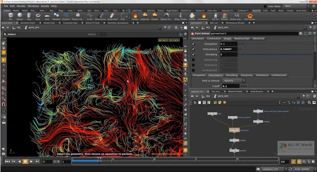 SideFX Houdini FX 18.0.532 x64 Win  17.5.229 Linux  macOS Free Download