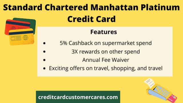 Standard Chartered Manhattan Credit Card