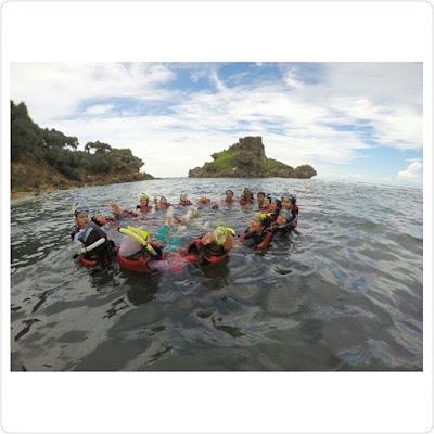 pantai nglambor, snorkling, menyelam, indah , gunung kidul, jogja, yogyakarta