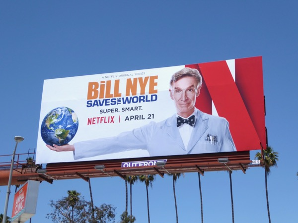 Bill Nye Saves the World season 1 billboard