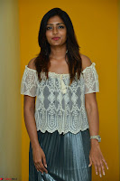 Eesha in a cute deep neck top and Skirt at at Big FM 117.JPG
