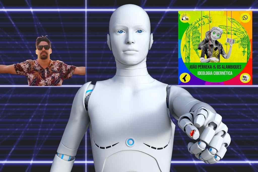 Ideologia Cibernética: novo single de João Perreka e os Alambiques